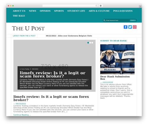 FastNews Light WordPress theme - theupost.org