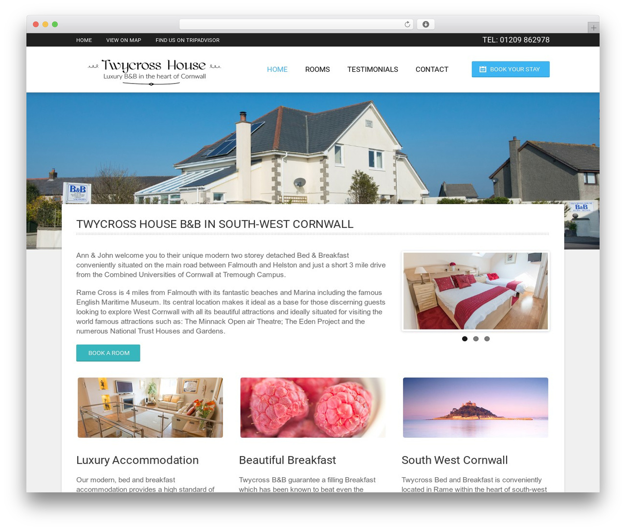 Hotec WP template - twycrosshouse.co.uk