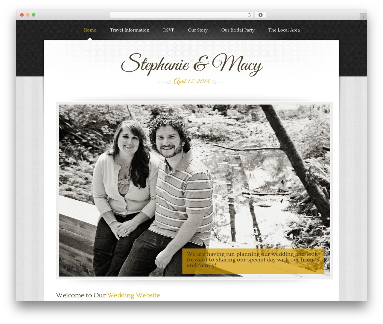 Famous Marriage Wordpress Theme Image Collection - Professional ...