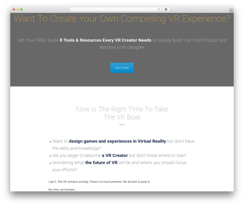 WordPress tesla-framework plugin - thevrtales.com