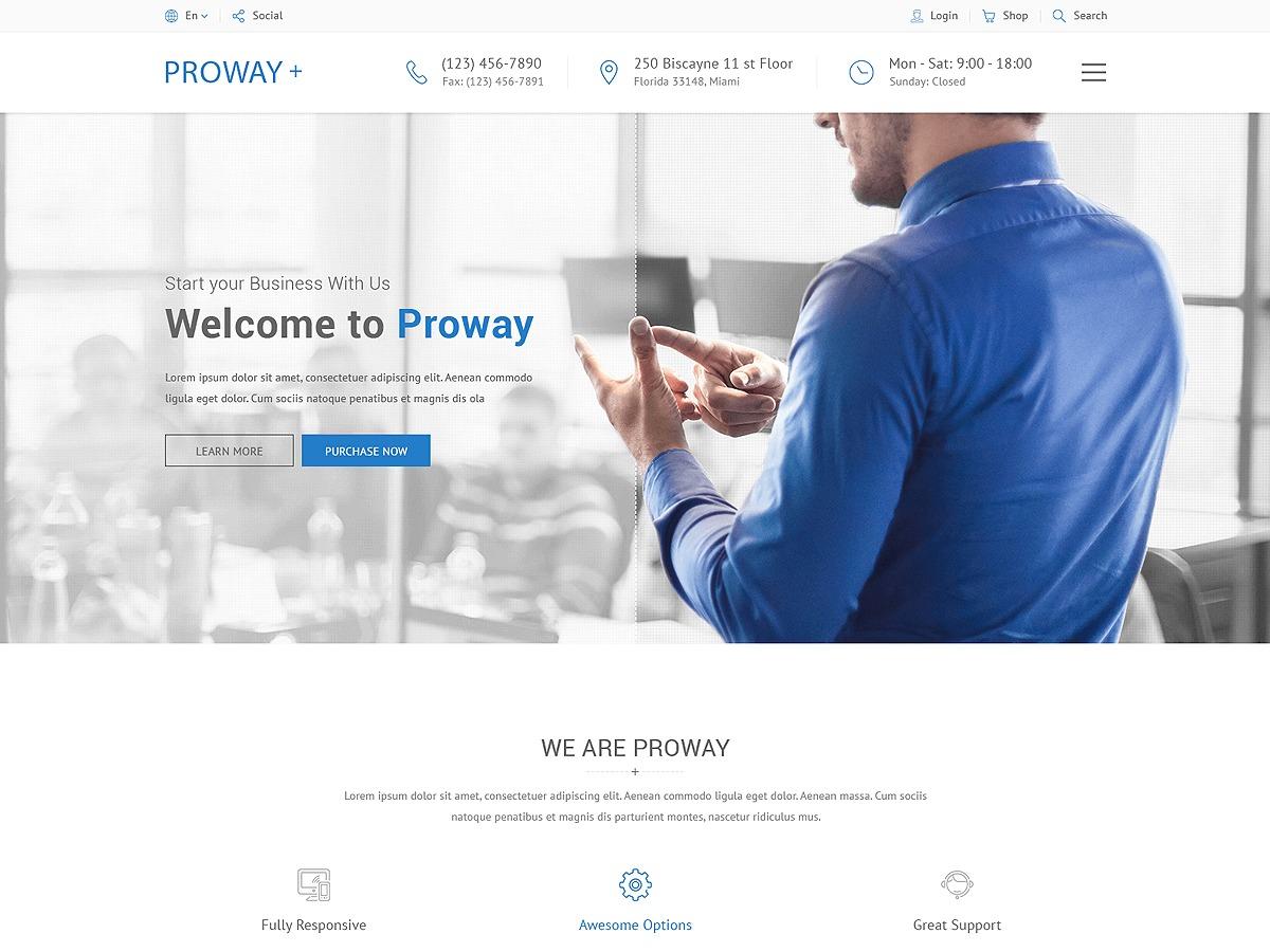proway WordPress theme