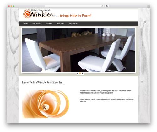 RealEstater WordPress theme - tischlereiwinkler.at