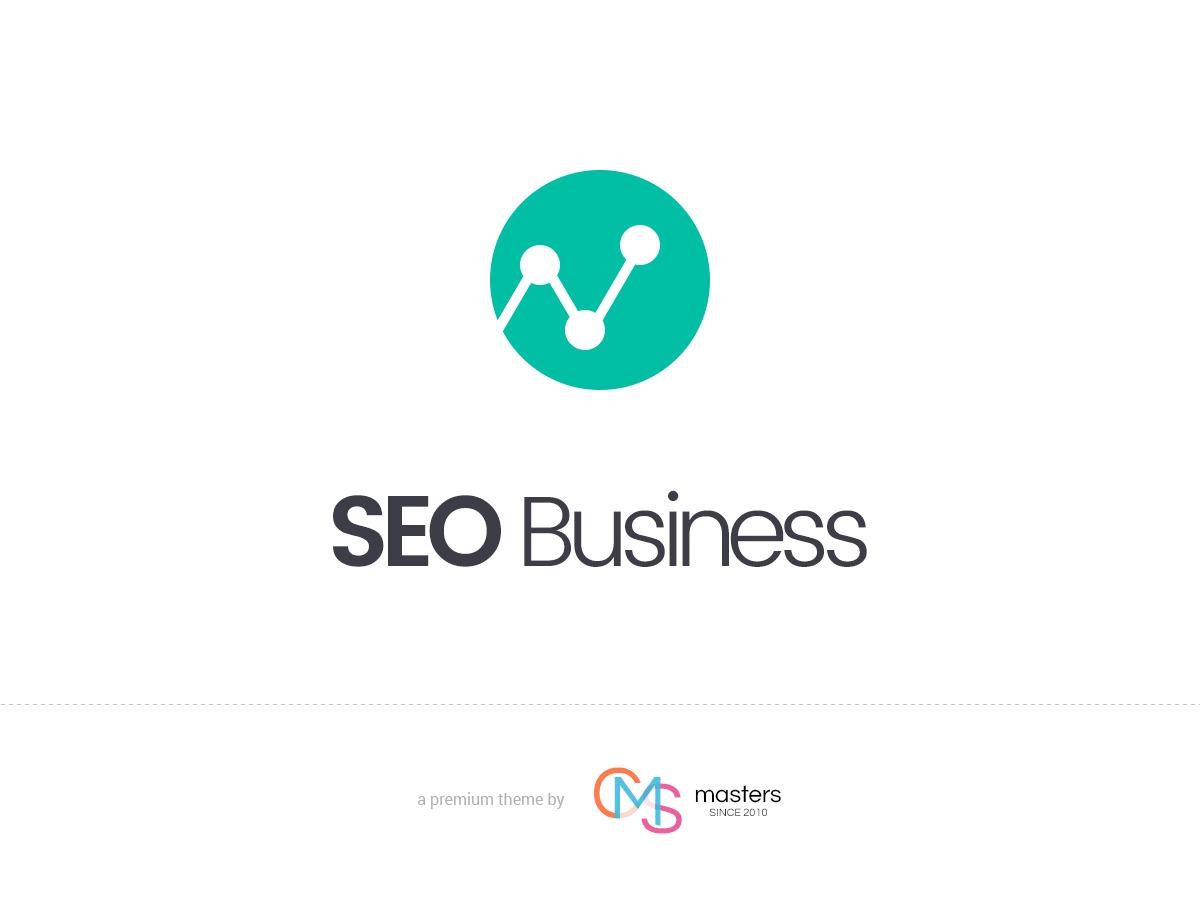 SEO Business WordPress portfolio theme
