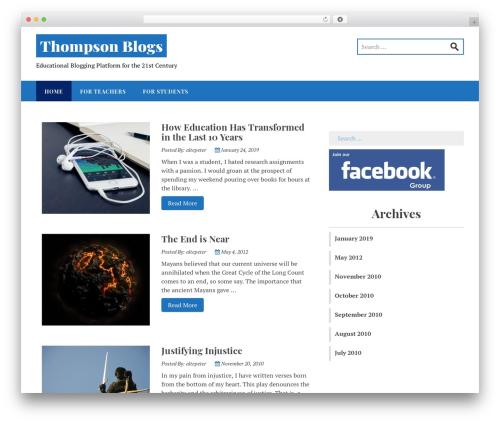Stucco WordPress template free download - thompsonblogs.org