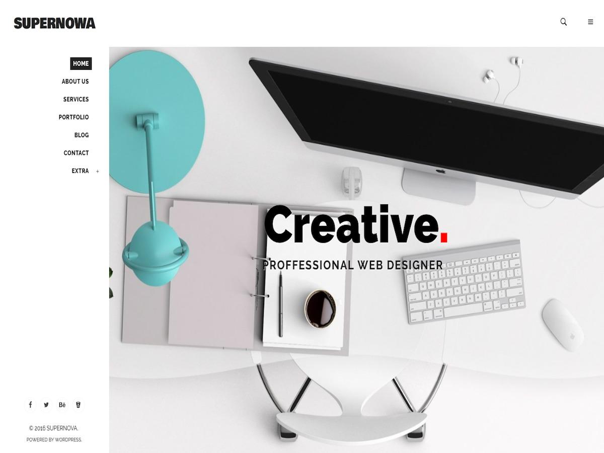 SuperNowa WordPress gallery theme