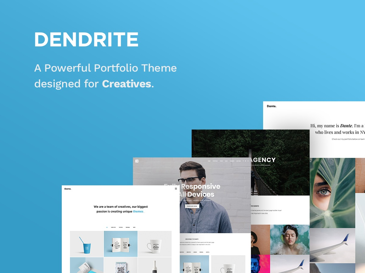 Theme WordPress Dendrite