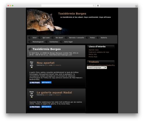 Theme WordPress Varg - taxidermiaborges.com