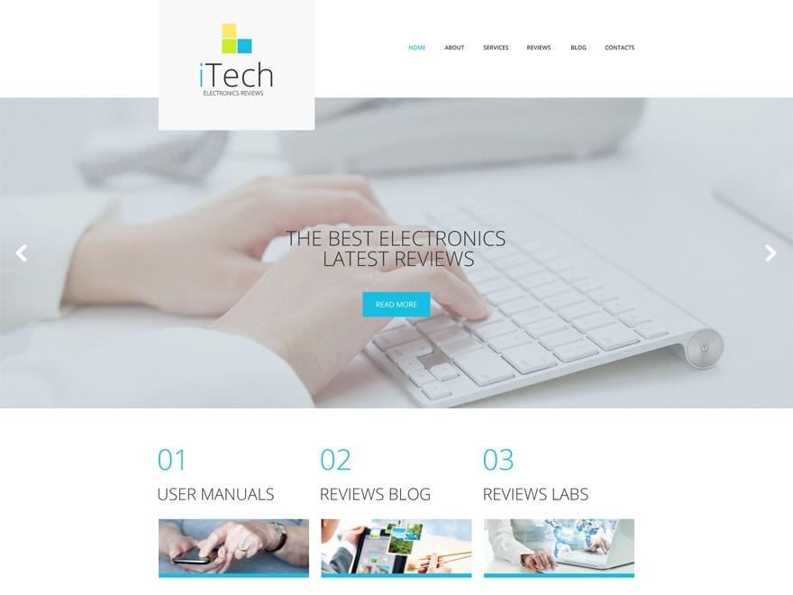 theme52051 WordPress page template