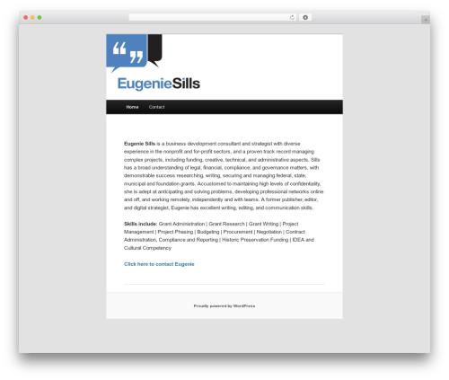 Free WordPress Twenty Eleven Theme Extensions plugin - twtmedia.com