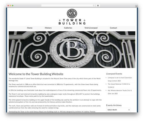 Virtue template WordPress free - towerbuilding.co.uk
