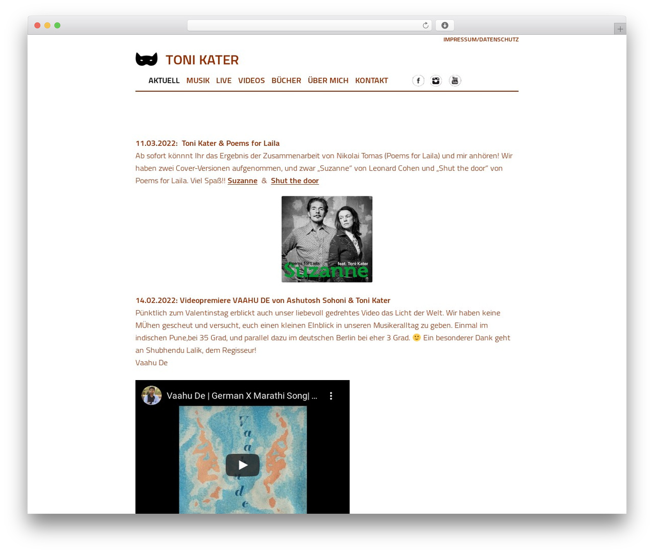 WordPress template tkater - toni-kater.de
