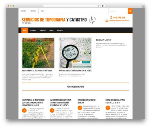 WordPress theme Koenda - topografiarural.com
