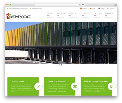 Arkitekt WordPress theme - memyoc.com