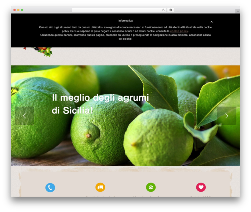 Organic Web Shop WordPress ecommerce template - agrisicula.com