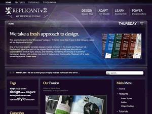 WordPress website template Replicant2 Wordpress Theme