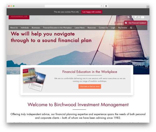 Accelerate free website theme - birchwoodinvestment.com