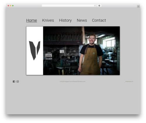 r2d2 free website theme - volgger-handmade-knives.com