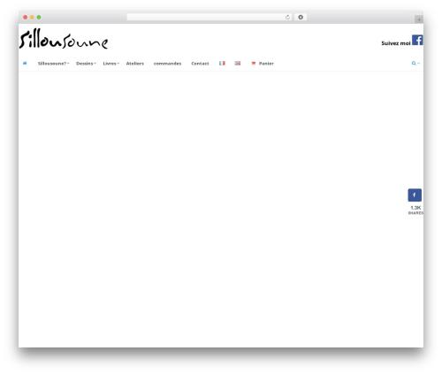 SmartShop top WordPress theme - sillousoune.com