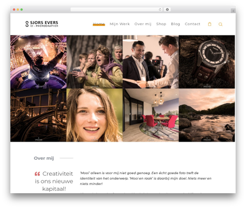 SohoPRO WordPress gallery theme - sjorsevers.com