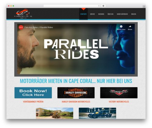 D5 Business Line Extend business WordPress theme - florida-motorrad-vermietung.com