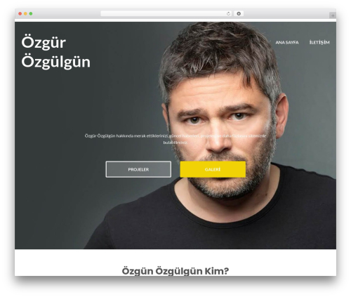 Illdy free WordPress theme - ozgurozgulgun.com