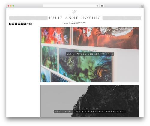 ZeroGravity theme WordPress free - julieannenoying.com