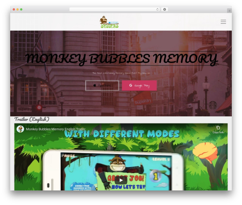 Applay WordPress theme - monkeybubblesgame.com
