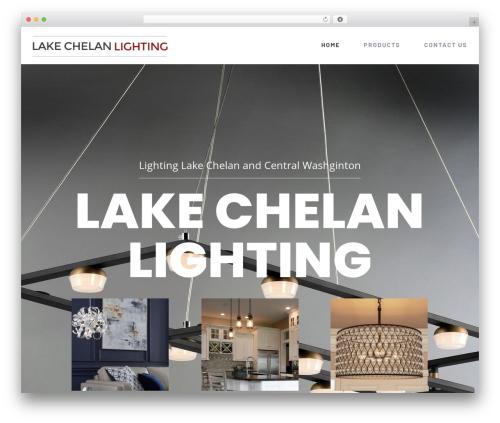 Avada WordPress shopping theme - lakechelanlighting.net