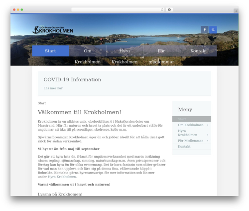 Template WordPress Unity - krokholmen.com