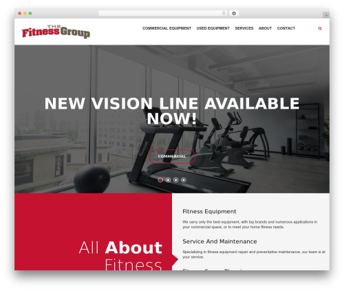 TK WordPress template - thefitnessgroup.com