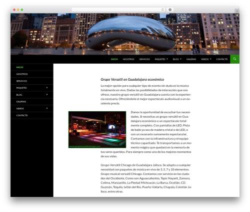 Twenty Fourteen free WP theme - grupoversatilchicago.com