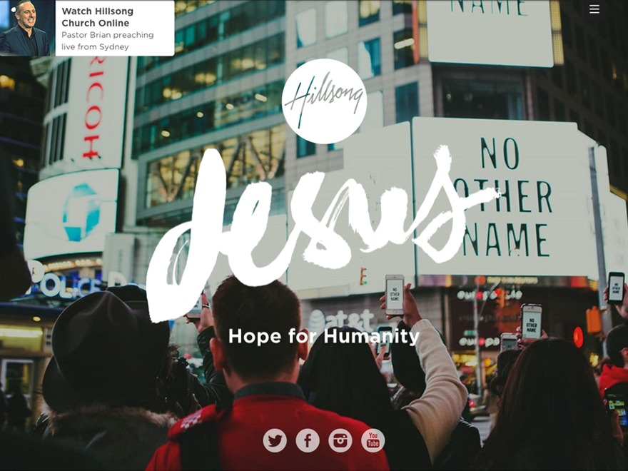 Hillsong best WordPress template