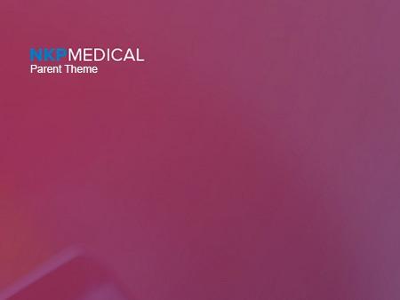 NKP Medical Parent Theme v2 medical WordPress theme