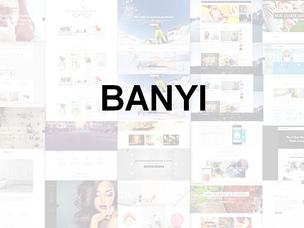 Banyi WordPress template for business