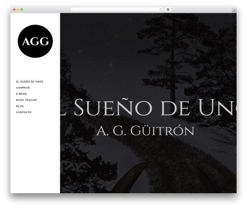 Bridge WordPress page template - agguitron.com