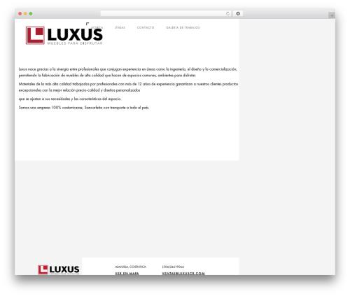 Domik top WordPress theme - luxuscr.com