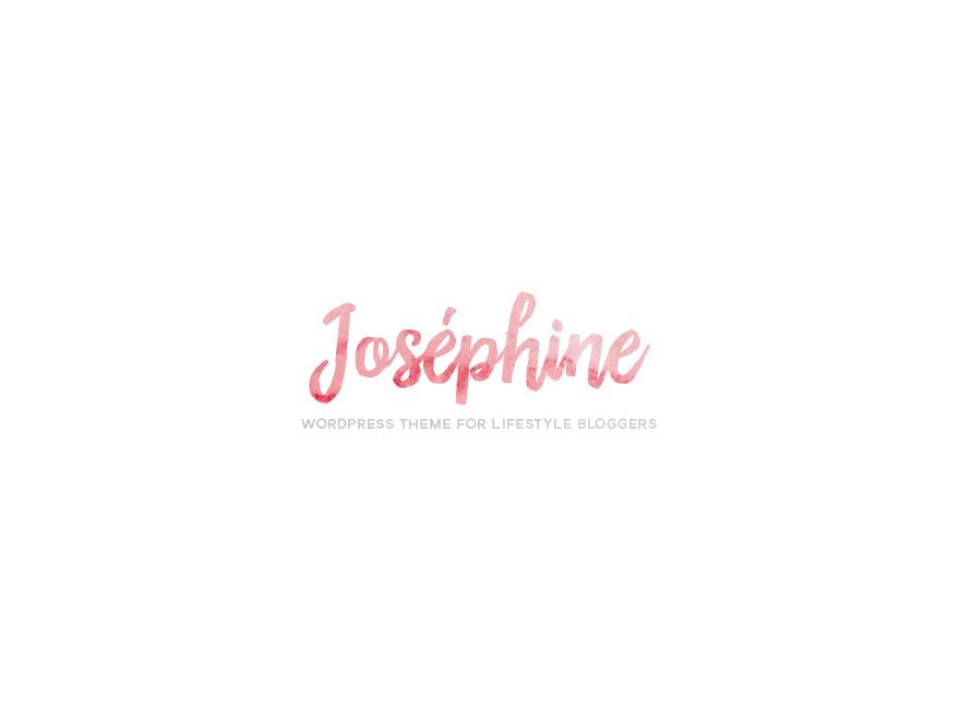 Josephine (shared on wplocker.com) WordPress blog template
