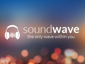 WordPress website template SoundWave