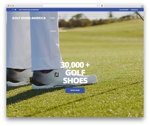 WP template UX Shop - golfshoesamericamb.com