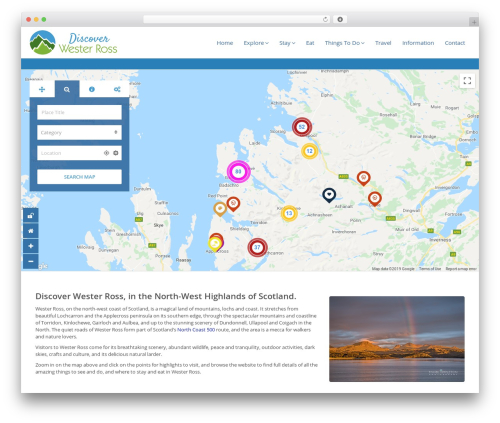 Pointfinder WP template - discover-wester-ross.com
