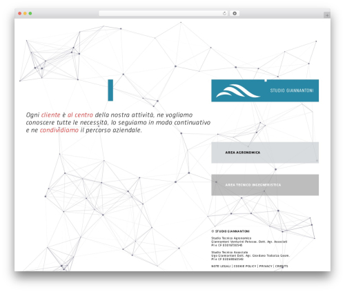 Template WordPress giannantoni2 - studiogiannantoni.com