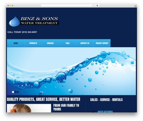 Theme WordPress cherry - binzsoftwater.com