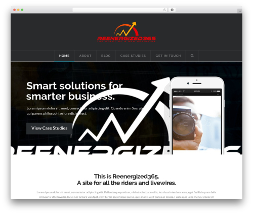 WordPress template X - reenergized365.com