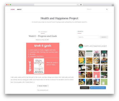 Activello WordPress theme free download - health-and-happiness-project.com