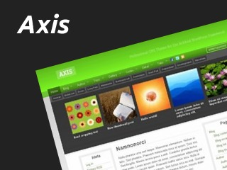 Axis for Ashford WordPress theme