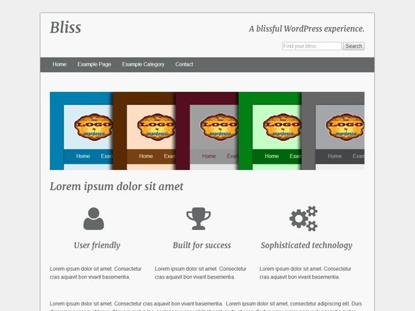 Bliss WordPress theme download