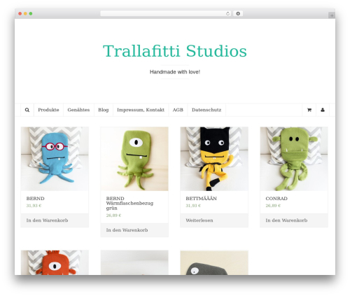 Coeur best WordPress template - trallafitti-studios.de