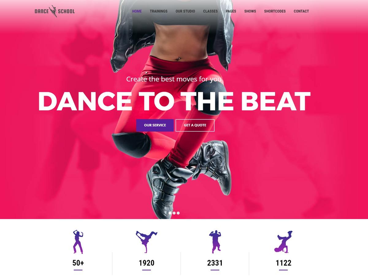Dance medical WordPress theme