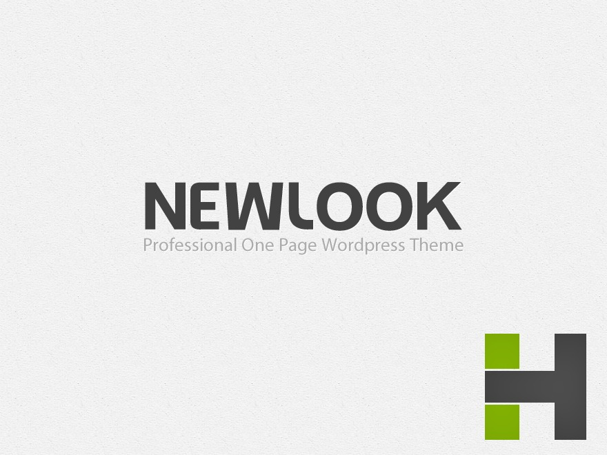 NewLook WordPress theme