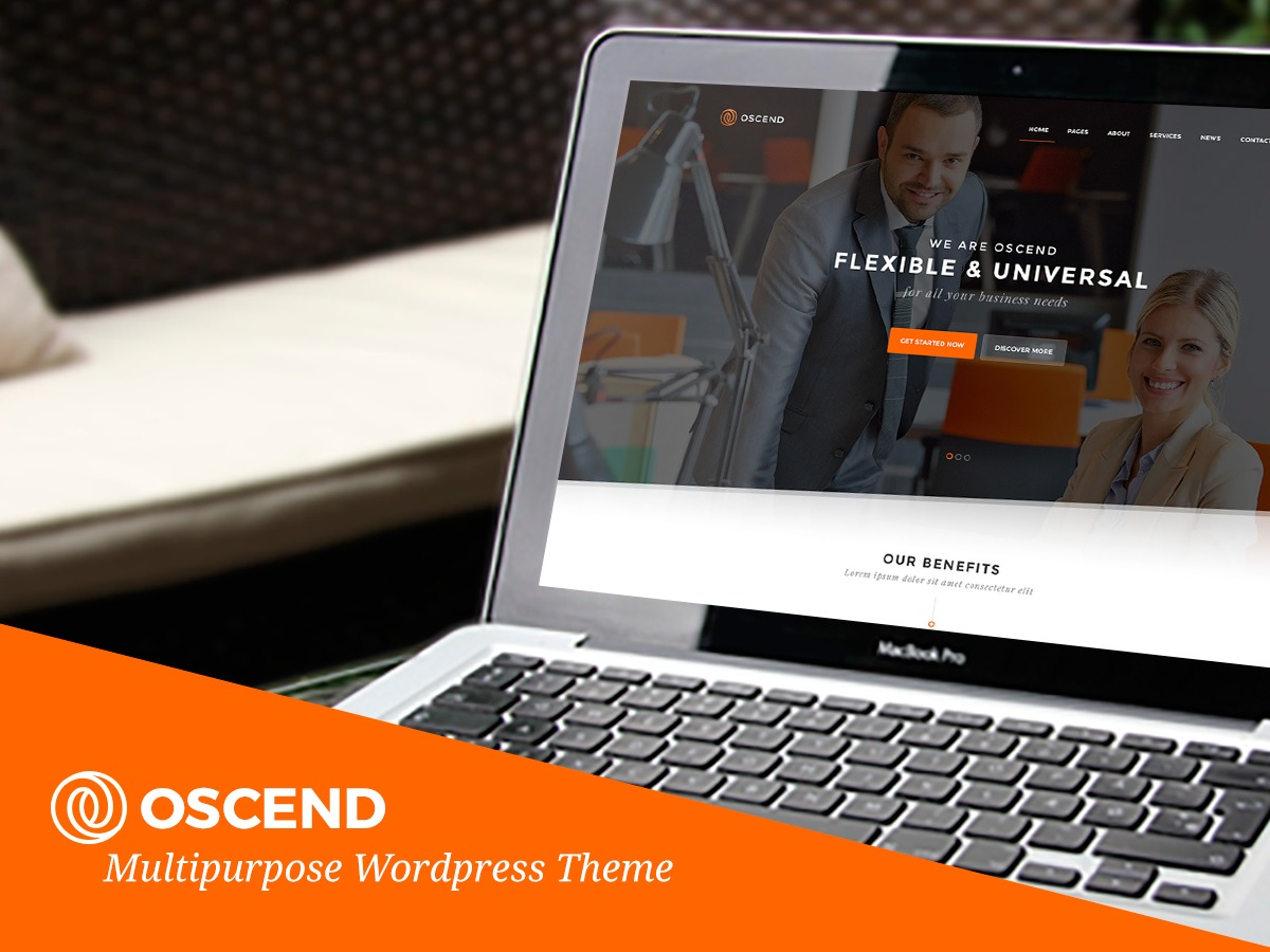 Oscend best WordPress template